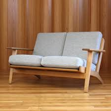 Hans Wegner Sofa by Ge 290 2 Sofa By Hans Wegner For Getama 1950s 55024