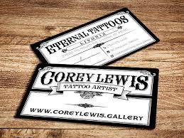 tattoo business cards 9 best artist business cards free premium