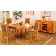 santa fe caramel oak buffet table dcg stores
