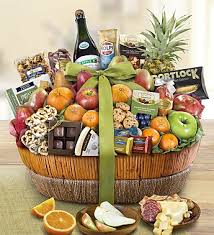 gift baskets food fruit gift basket