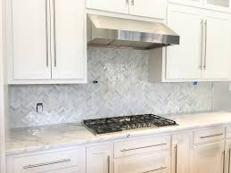 White Backsplash Kitchen by Carrara Backsplash Home Design Inspirations