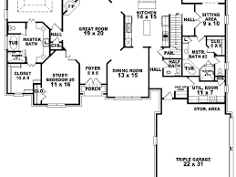 house plans single story single story 5 bedroom floor plans design single story house plans