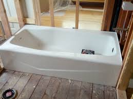 Cast Iron Bathtubs Home Depot Bathrooms 59 Inch Bathtub Home Depot Americast Tub Bath Tub Lowes
