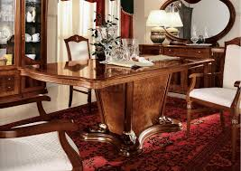 lacquer finish classic dining room w mat inlaids