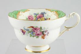 vintage china pattern charming paragon rockingham trio kent vintage china hire
