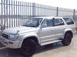 toyota hilux surf 3 0 ssr g auto 4x4 silver in keighley west