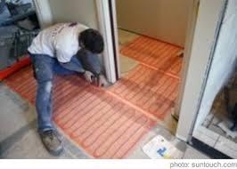 radiant heat flooring turn panels radiant floor heating electric