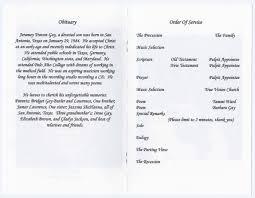 16 memorial handout template funeral service program quotes