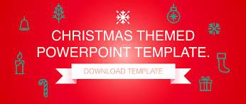 christmas themed powerpoint presentation design