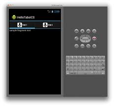 xamarin android xamarin forms border between actionbar and tabs
