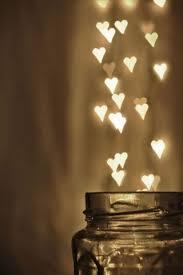 brown lights hearts mobile wallpaper graffiti
