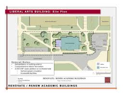 file liberal arts building site plan png university design and