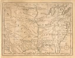 Map Of Southeastern Usa by Antique Maps Of Regions Of 18th Century North America