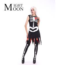 Womens Skeleton Halloween Costume Halloween Costumes Skeleton Promotion Shop Promotional
