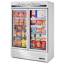 glass door chest freezer commercial freezers u0026 ice makers costco