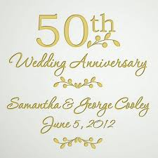 50th wedding anniversary glass 50th wedding anniversary plate