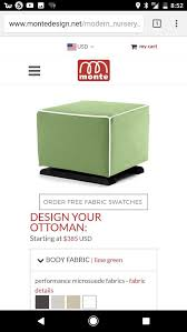 Luca Ottoman Beautiful Crafted Sustainable Floor Model Monte