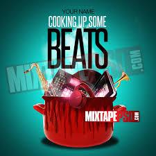 mixtape template cooking beats mixtapepsd com
