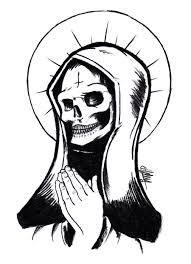 santa muerte by helenasally72 on deviantart