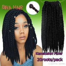 14 inch hair extensions 2017 14inch crochet braids kanekalon black color mambo senegal