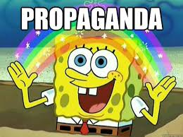 Propaganda Meme - propaganda spongebob hates logic quickmeme