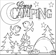 amazing camping coloring pages coloring pages dokardokarz net