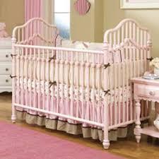 spring garden metal crib by lea furniture