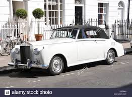 drophead rolls royce white rolls royce silver dawn drop head soft top style 1950s