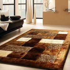 Livingroom Rugs by Amazon Com Admirable Shaggy Viscose 30 Brown Living Room Area
