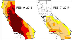 Us Drought Map U S Drought Monitor News And California Map California Drought