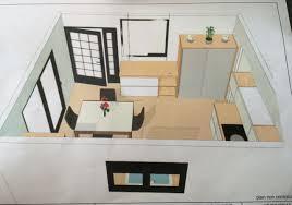 cuisine 14m2 idées implantation cuisine 14m2 construction maison au sud est de