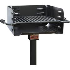 Backyard Charcoal Grill by Pilot Rock Heavy Duty Steel Park Style Charcoal Grill U2014 16in X