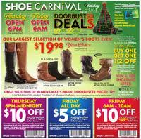 shoe carnival black friday 2014 ad scan