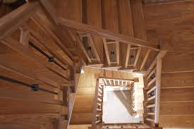 Basement Chair Rail - arts and crafts staircase decorating ideas basement contemporary