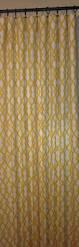 geometric curtains trellis curtains robert allen fret yellow