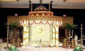 hindu wedding mandap decorations hindu mandap designs id es d co th me mariage indien