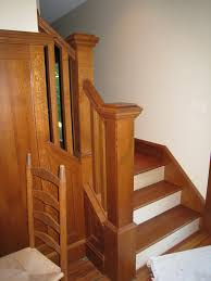 Wood Stair Banisters Wood Stairs And Railings Buildipedia