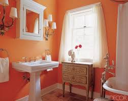 Decorating Ideas Small Bathroom Colors 78 Best Orange Bathrooms Images On Pinterest Orange Bathrooms