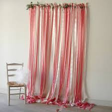 Curtains For Wedding Backdrop Pink And Cream Wedding Backdrop By Just Add A Dress