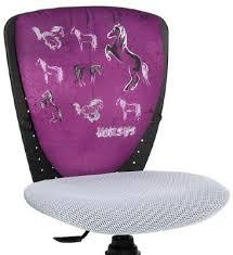 chaise de bureau fille siege enfant en motif cheval une chaise de bureau enfant ergonomique