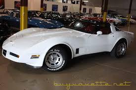 1981 white corvette 1981 corvette 350 ho 4 speed for sale at buyavette atlanta
