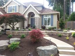 exterior impressive front and backyard landscaping creative