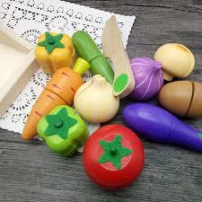 simulation cuisine en ligne jaheertoy en bois cuisine jouets set cut légumes jouets pour enfants
