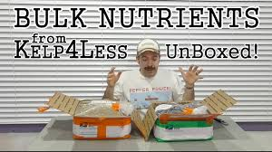 Where To Buy Rocks For Garden by Kelp4less Where To Buy Bulk Nutrients For Your Garden Unboxing