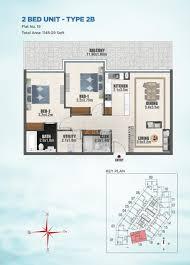 Floor Plans Bayz Tower Business Bay By Danube Properties