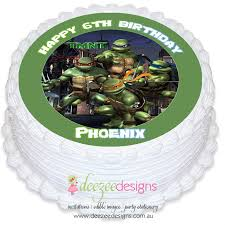 tmnt cake topper mutant turtle edible cake topper pre cut