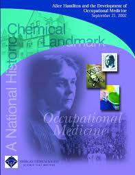 alice hamilton and the development of occupational medicine