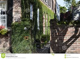 southern style home southern style home with ivy in charleston sc stock photo image