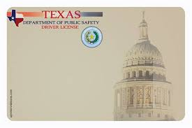 27 images of texas temporary paper driver license template