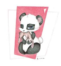 cute baby panda drawing gallery clip art library
